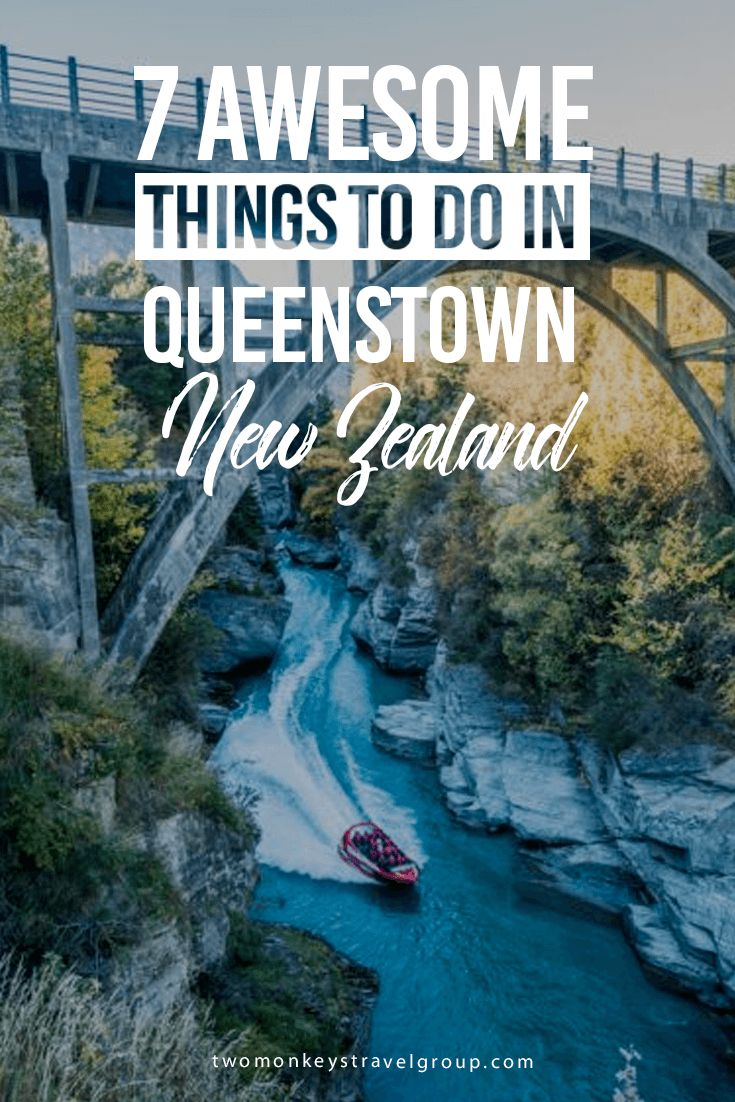 7 Awesome Things to do in Queenstown, New Zealand Queenstown is located on the South Island of New Zealand, on the shores of the lightning bolt that's Lake Wakatipu, at the base of the majestic Southern Alps. Almost 3 million visitors are drawn to Queenstown every year, making it one of the most popular spots in New Zealand. Some people just visit to breathe in the fresh mountain air, but we guarantee you there are tons of awesome things to do in Queenstown.