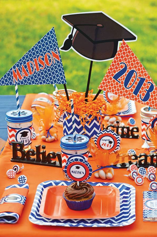 graduation party picture display ideas - Google Search