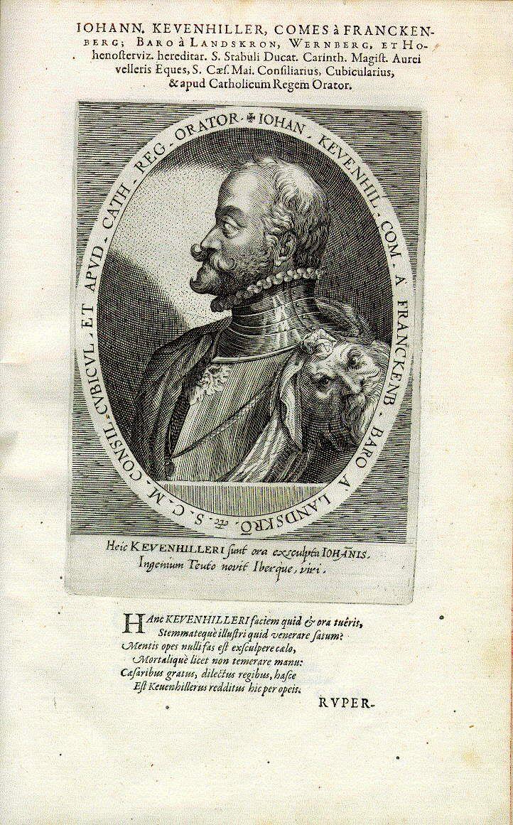 Johann Graf Khevenhüller (1538-1606), Diplomat