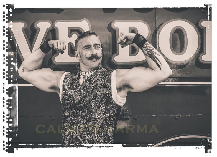 Circus strongman to hire - UNBELIEVABLE!    Tel:  0203 603 9540 http://www.calmerkarma.org.uk/CIRCUS-THEMED-ENTERTAINMENT.html