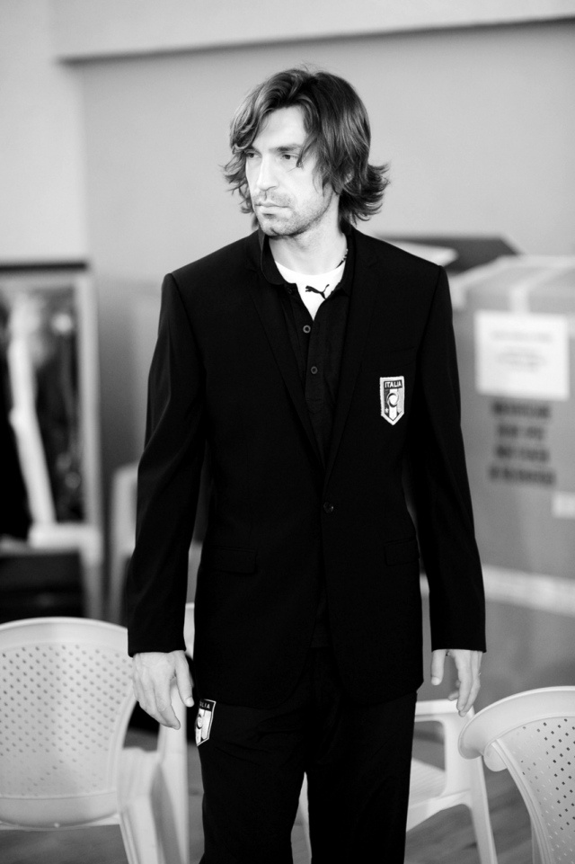 My international soccer crush- Andrea Pirlo.  Kinda dreamy and one of the more underrated players on the field today.