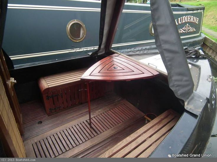 Foredeck woodwork - 60ft Semi Trad