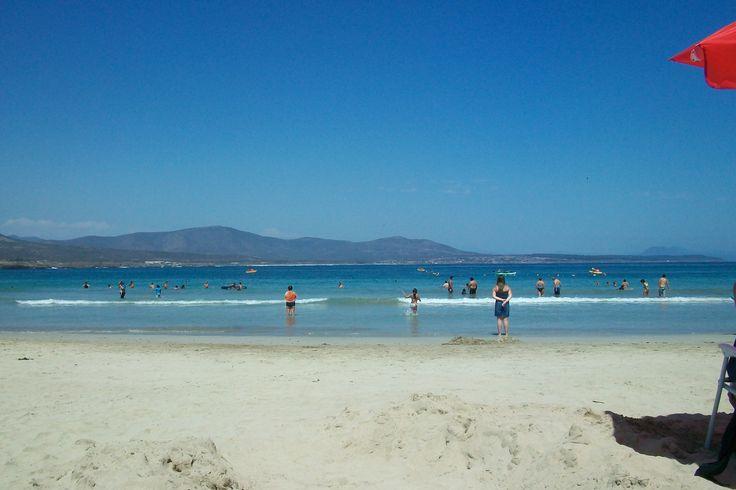 Playa Los Molles, Chile.
