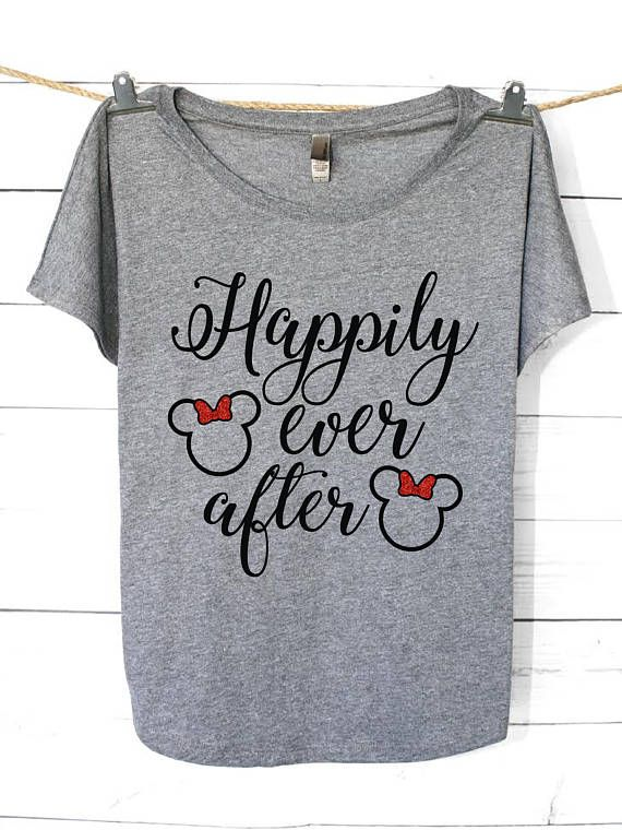 20 best honeymoon shirts images on pinterest disney for Disney happily ever after shirt