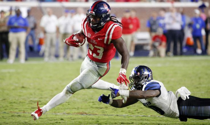Standard down deviation: inside the Ole Miss offense = It's no secret that Ole Miss's rushing attack hasn't been great under Hugh Freeze.  It's usually been in the middle of the SEC, ranking between sixth and eighth in the conference in sack-free yards per carry against FBS.....