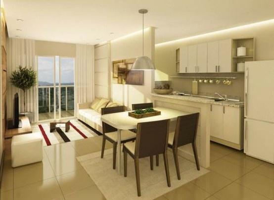 Apartamento pequeno todo integrado