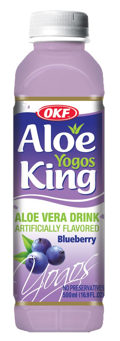 New blueberry drink from Aloe King