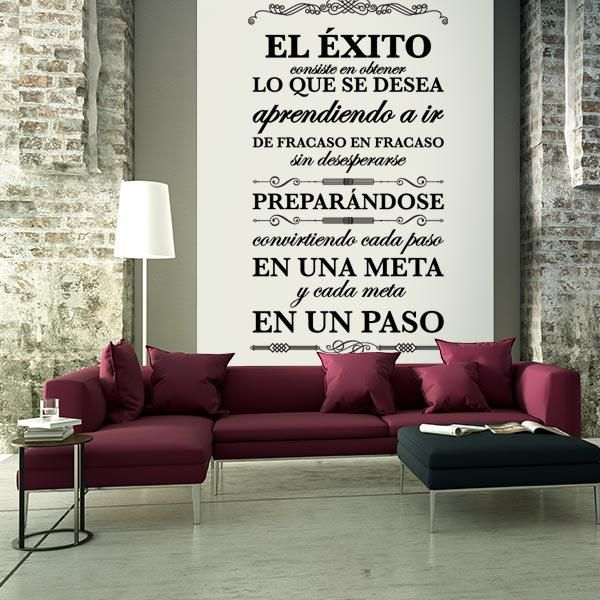 M s de 25 ideas incre bles sobre citas la pared de la for Decoracion de paredes interiores de casas