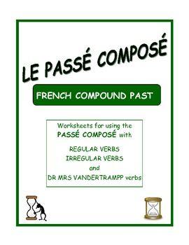 Excellent introductory exercises for the PASSÉ COMPOSÉ