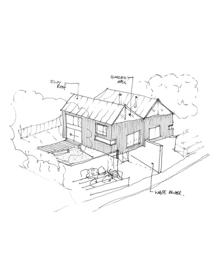 The brief was to replace an existing garage with a pair of semi-detached contemporary timber & zinc clad houses in Winchester, Hampshire which would accommod...