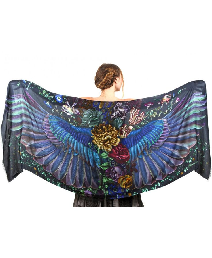 51 best Handpainted Scarves images on Pinterest | Amazing ...
