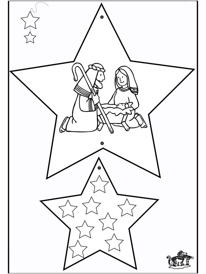 kerstmobiel voor kleters / decorations-de-noel-bible