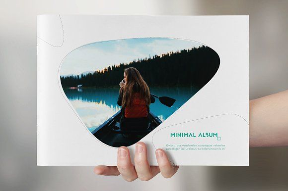 Minimal Photo Album by Kahuna Design on @creativemarket