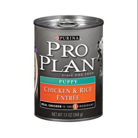 Purina Pro Plan Puppy Chicken & Rice, 12 x 13oz