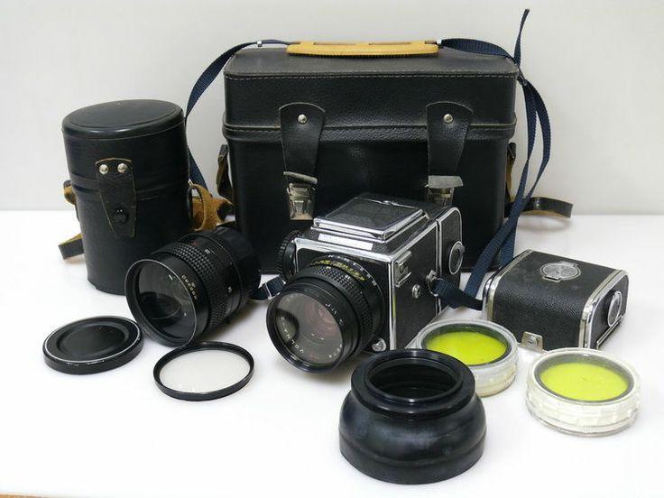 Kiev 88 Mittelformatkamera Set zwei mal Obj. | eBay