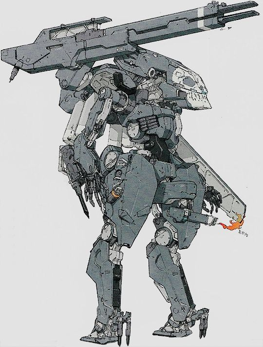 Tumblr: steamedtofu:  Metal Gear Solid V: The Phantom Pain Official Guide: Sahelanthropus.