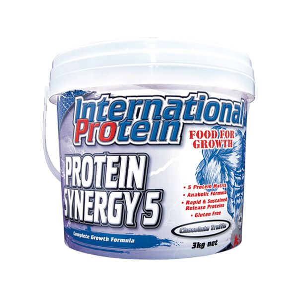 International Protein Protein Synergy 5 - Second To None Nutrition