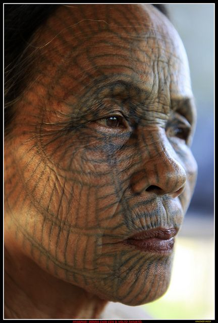 IMG_7961 Donne tatuate della Birmania. | Flickr - Photo Sharing!