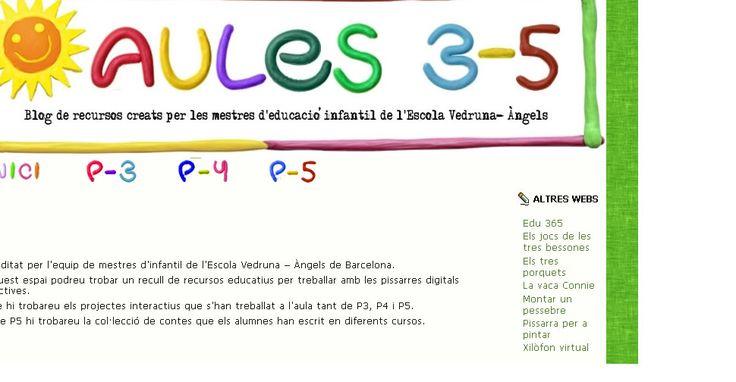 Blog creat per l'equip de mestres d'infantil de l'escola Vedruna - àngels de Barcelona, amb recursos digitals d'elab pròpia. http://dom.cat/8es