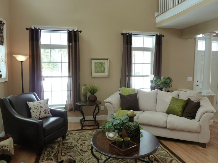 Fairway Oaks   Benjamin Moore · Farmhouse Family RoomsBasement Family  RoomsDecorating ...