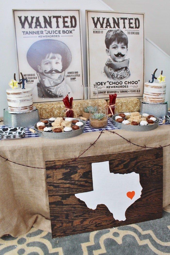 Western Rodeo Birthday Party on Kara's Party Ideas | KarasPartyIdeas.com (12)