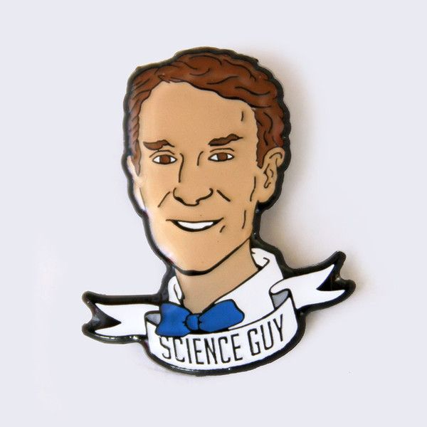 Take A Penny Co. - Scientist Edition: Bill Nye the Science Guy Enamel Pin