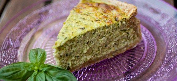 Torta rustica integrale con pesto di zucchine e ricotta | Chezuppa!