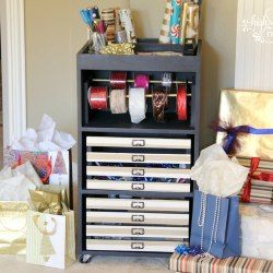The 25+ best DIY gift wrap cart ideas on Pinterest | DIY wrapping ...