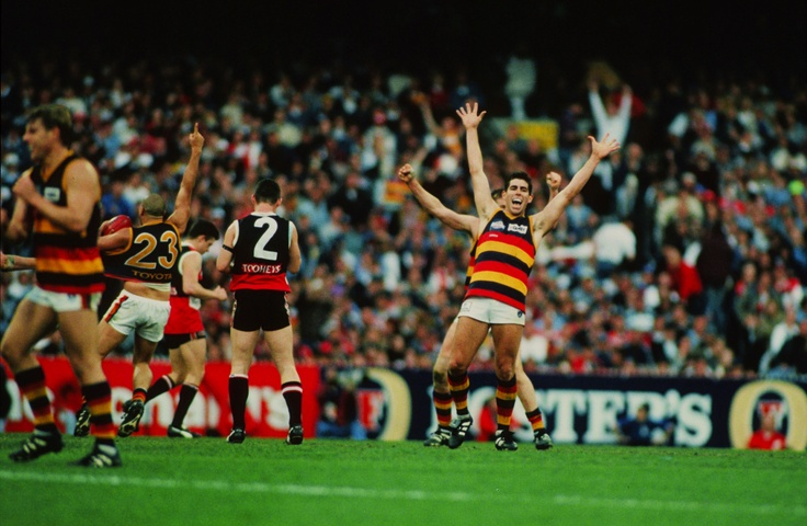 The final siren blows ... and we are the 1997 premiers!