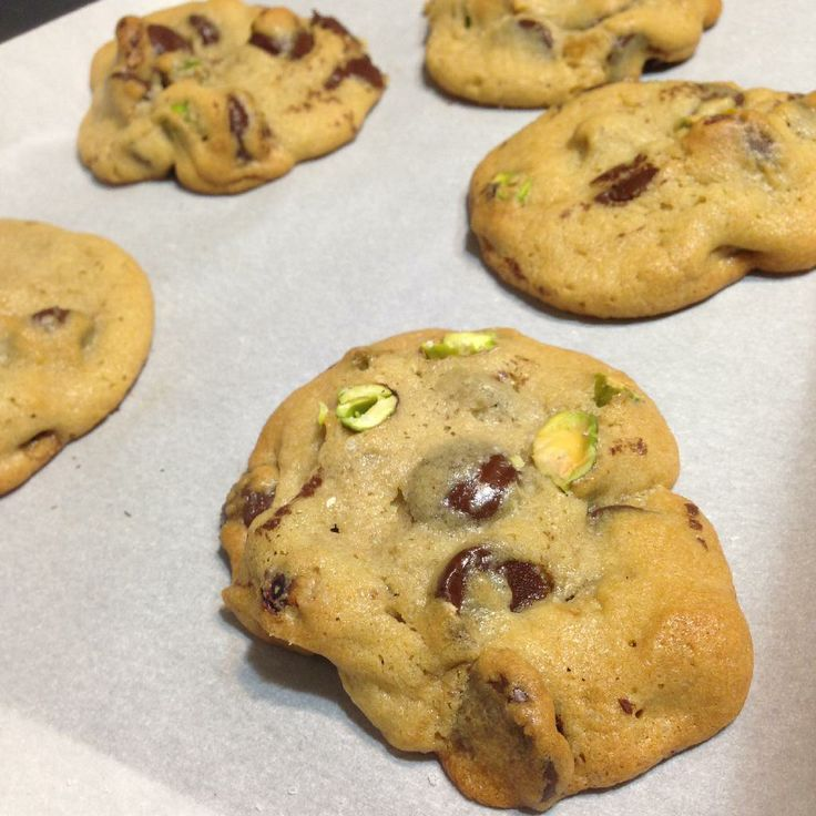 ... Cookie Swap Recipe: Sea Salt, Pistachio and Dark Chocolate Chip