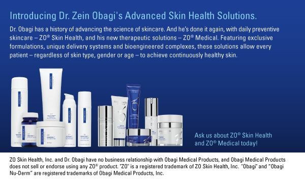 ZO Health & ZO Medical have changed my skin in all of the right ways!