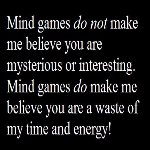 Mind games not online
