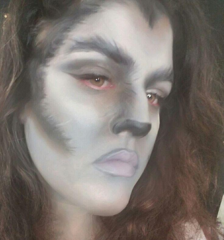 The 25+ best Werewolf face paint ideas on Pinterest | Werewolf ...