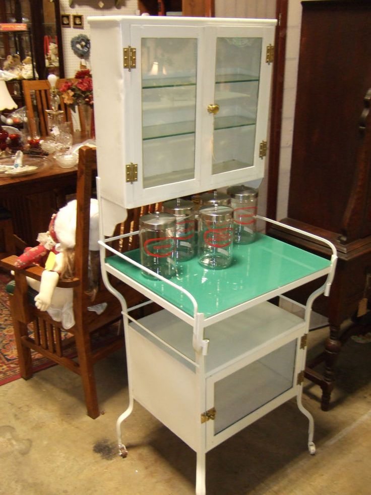 antique doctors office medical cabinet pharmacy hospital cabinet