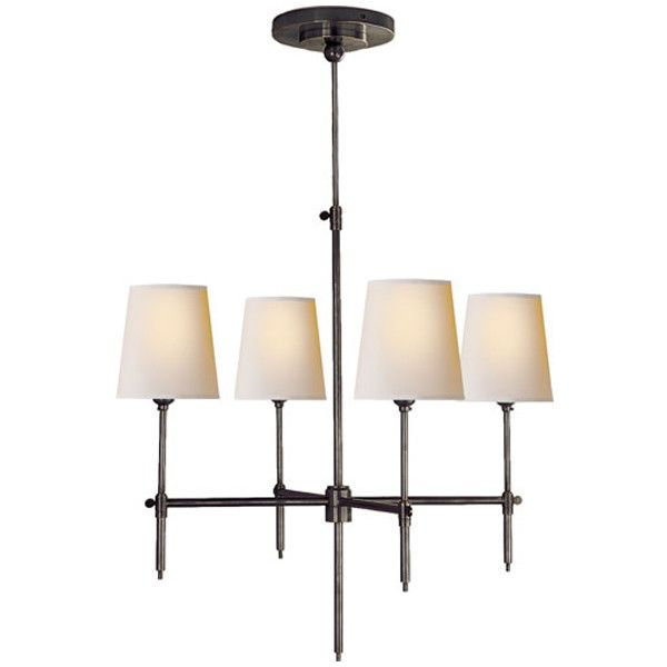 Visual Comfort Lighting Thomas OBrien Bryant 4 Light Chandelier