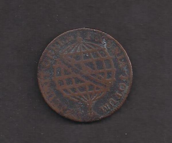 Numismática: Moeda de cobre de XX reis. D. José - 1774