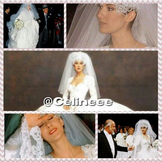 Celine Dion During Her Wedding Ceremony Follow And