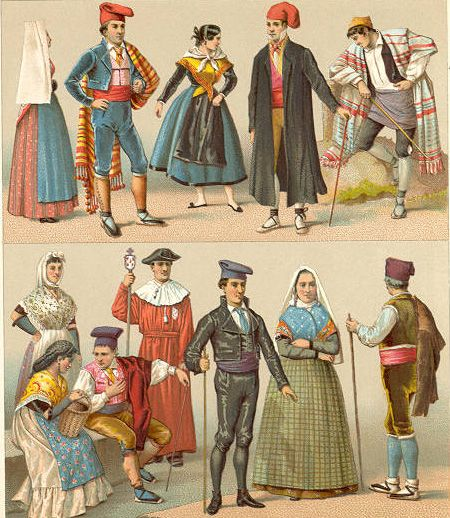 Traditional Dress: Spain - History of Fashion Design