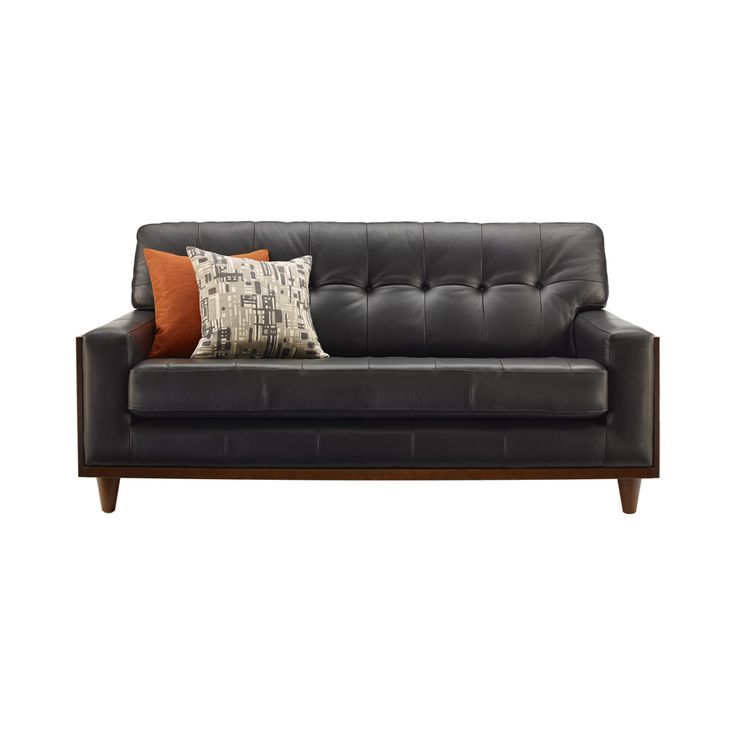 Small Leather sofas - Interior House Paint Colors Check more at http://www.freshtalknetwork.com/small-leather-sofas/