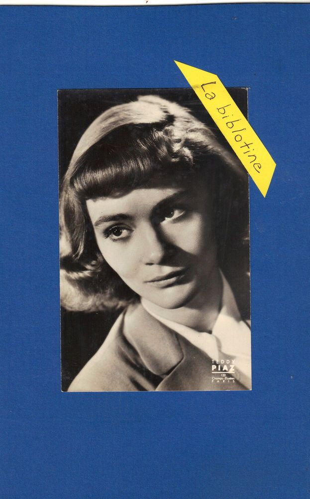 CARTE PHOTO - DANIELE DELORME - TEDDY PIAZ  - N°50 -  ACTRICE, PRODUCTRICE