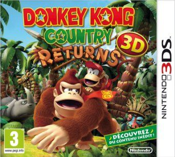 Donkey Kong Country Returns: Nintendo 3DS: Amazon.fr: Jeux vidéo