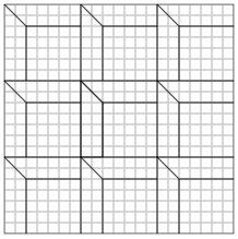 SHADOW BOX- Antique Geometric Quilt Designs