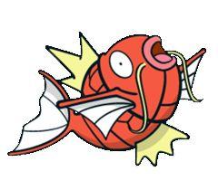 #Magikarp from the official artwork set for #Pokemon Channel on #Gamecube. http://www.pokemondungeon.com/pokemon-channel