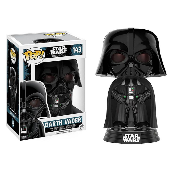Funko Star Wars Rogue One POP Darth Vader Bobble Vinyl Figure - Radar Toys