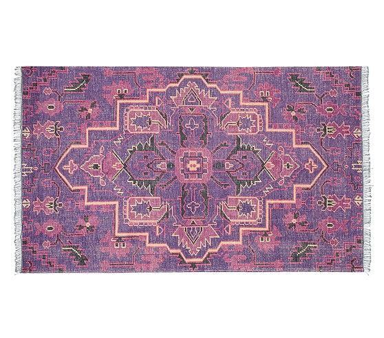 Marie Hand Knotted Medallion Rug | Pottery Barn Kids