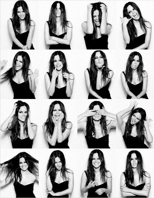 Photobooth-Bilder von Celebrities