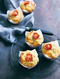 Vegetable muffins by Louise Fulton Keats from Something for Everyone | Cooked