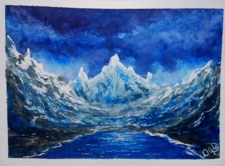 Watercolour by Adam Gżyl