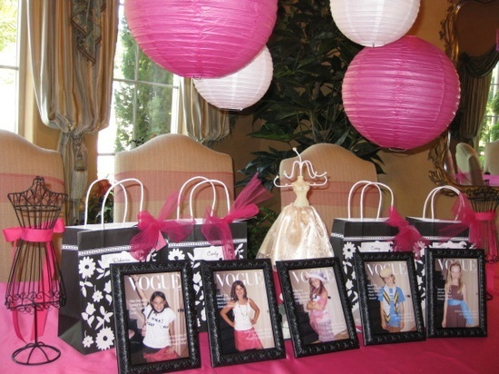 project runway birthday party for girls | Party Ideas / Project Runway Birthday Party | Creative Party Place