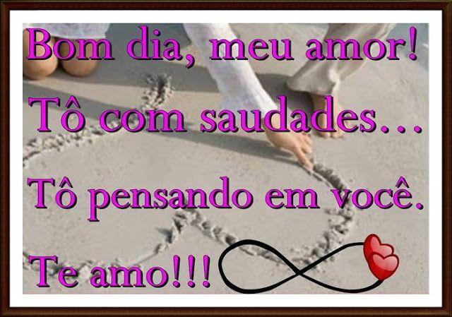 Cartoes Postais De Bom Dia Meu Amor Com Imagens Amor